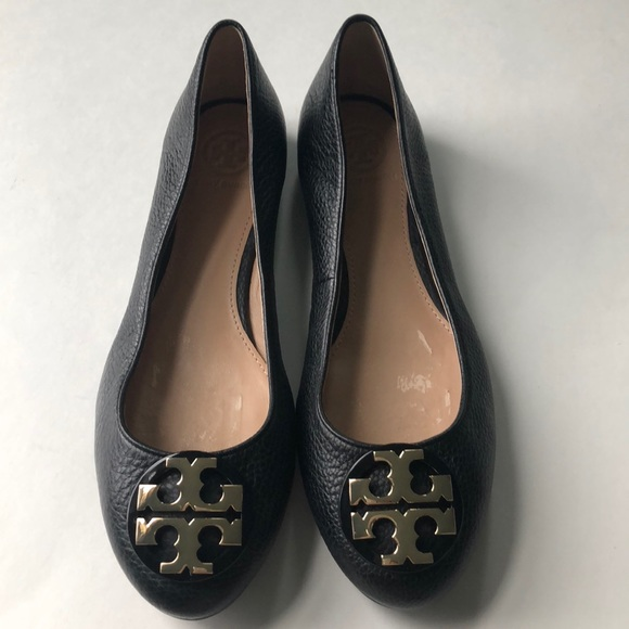 02b97dad2 New Tory Burch Claire Black Ballet Flats 7. M 5ad0ecbb2ab8c576a25883a5